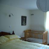 Double en-suite with cot